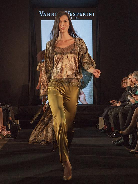 Vannina Vesperini fashion show in the Gallery on Lingerie Briefs