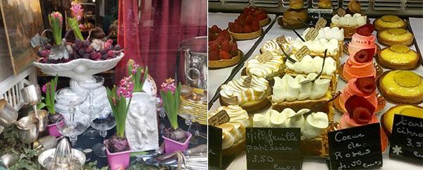 Ellen Lewis Window shopping in Paris