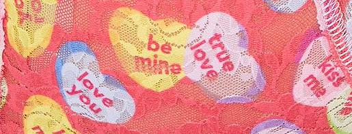 Hanky Panky's Sweet Hearts print
