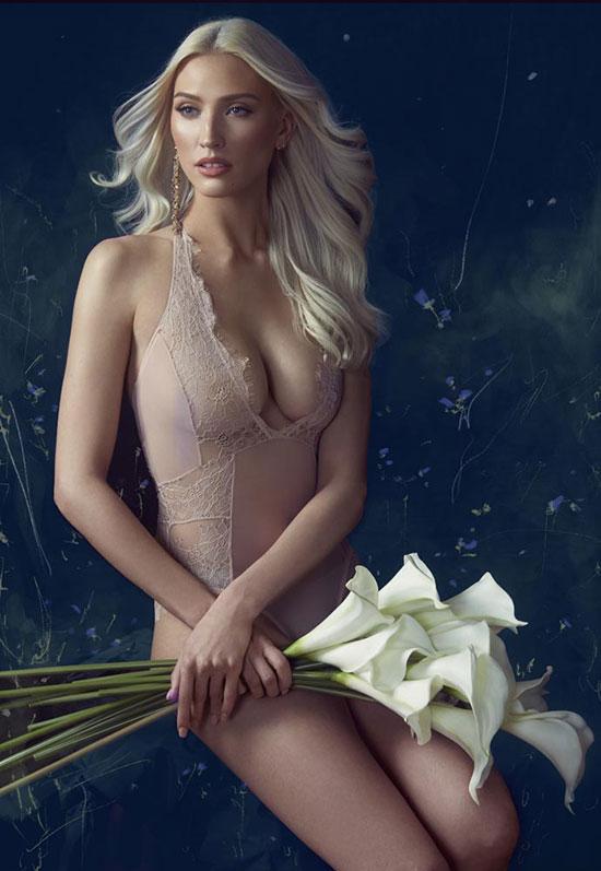 Stephanie Hynes Photography Fashion Lingerie on Lingerie Briefs: Bluebella