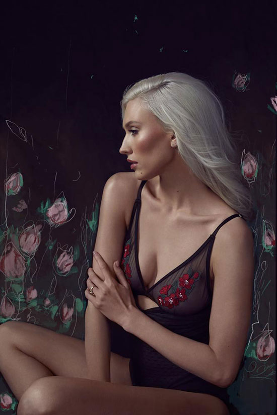 Stephanie Hynes Photography Fashion Lingerie on Lingerie Briefs: Montelle Intimates