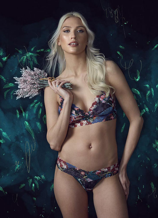 The Rites of Spring- Hanky Panky Bralet and panties photographed by Stephanie Hynes for Lingerie Briefs