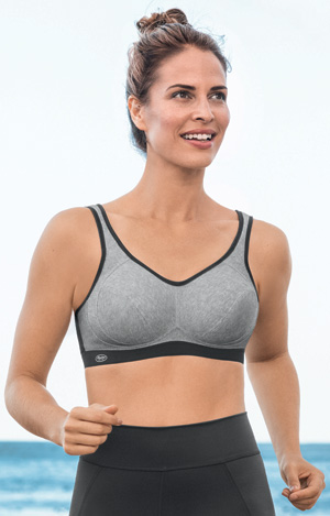 Anita Care: Extreme Control post-mastectomy pocketed sports bra
