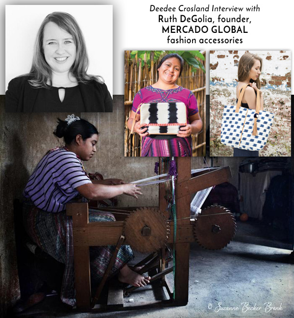 Ruth DeGoliia of Mercado Global interviews with Deedee Crosland