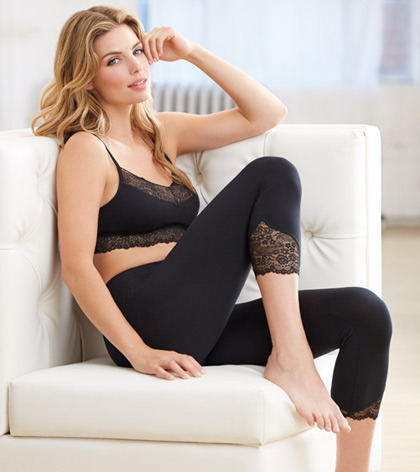 BodyBliss Bralette and Capris from Montelle Intimates on Lingerie Briefs