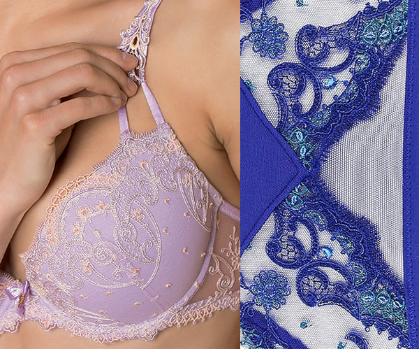 Lise Charmel Instant Couture detailing - embroidery on Lingerie Briefs