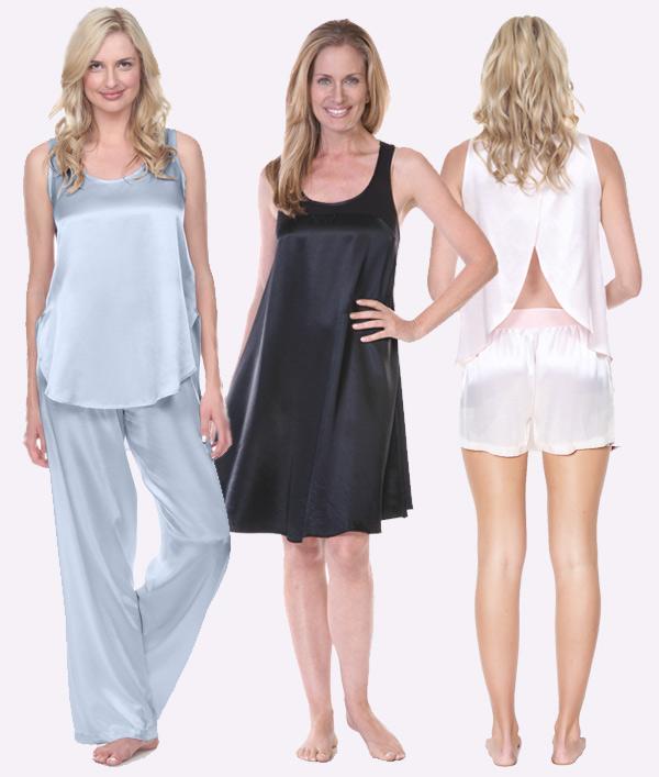 PJ Harlow Satin Loungewear