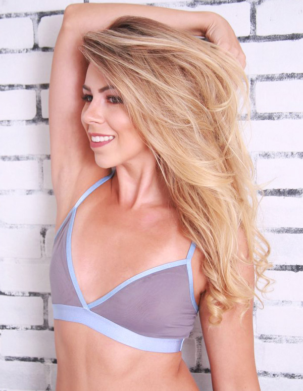 new UC Sheer Mesh Bralette collection from Coobie