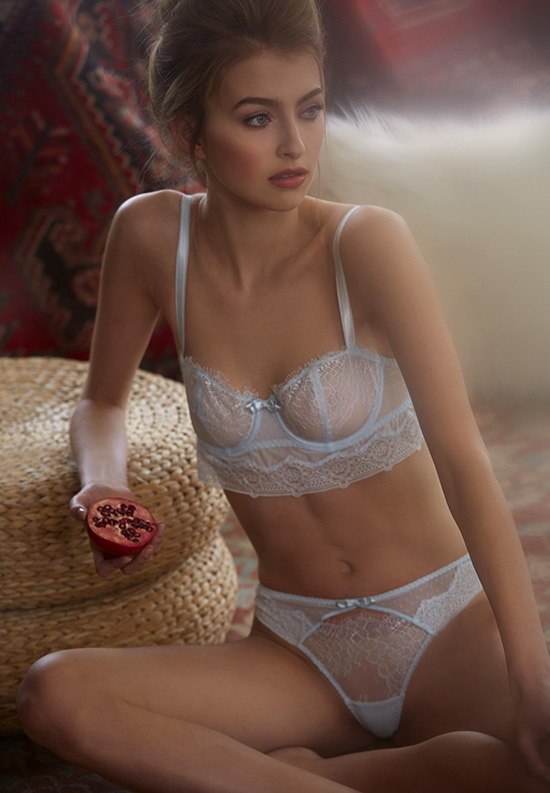 Passionata Bra and bikini panty photographed by Stephanie Hynes on Lingerie Briefs