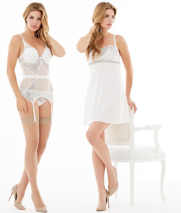 My One and Only Merry Widow & Chemise by Montelle - seen on Lingerie Briefs