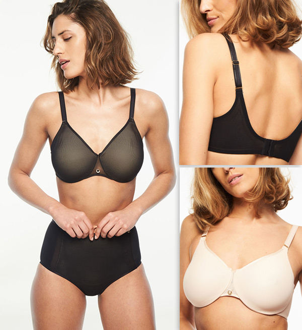 Chantelle C Magnifique Sexy Seamless Unlined Minimizer featured on Lingerie Briefs