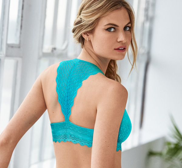 b.tempt'd Love Triangle Bralette featured on Lingerie Briefs