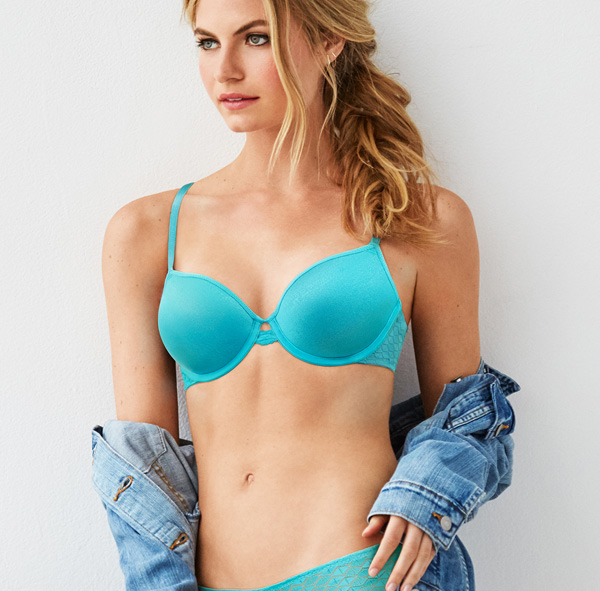 Love Triangle Underwire T-shirt Bra - b.tempt'd featured on Lingerie Briefs
