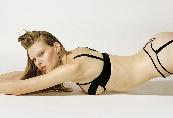 German brand Opaak featured designer in the Gallery on Lingerie Briefs