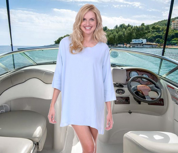 Jammy Beans cotton tunics - beach to bedroom - featured on Lingerie Briefs