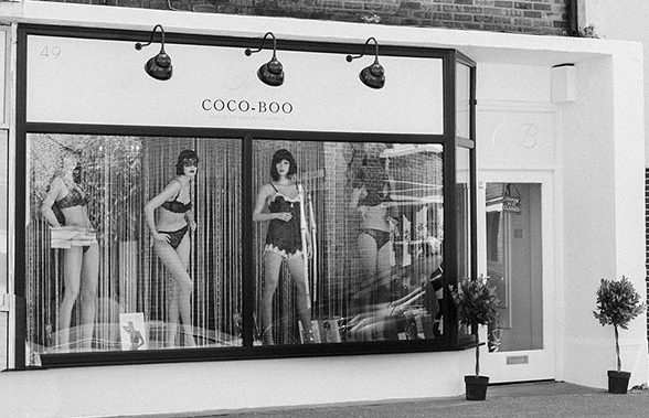 Coco Boo UK boutique featured on Lingerie Briefs