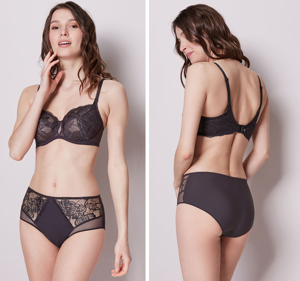 Simone Perele New Promesse Full Cup and Retro Brief featured on Lingerie Briefs