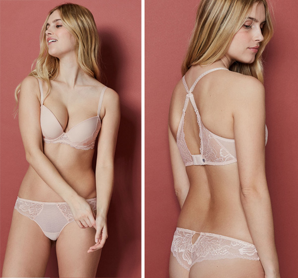 Simone Perele New Promesse Push-Up and Tanga featured on Lingerie Briefs