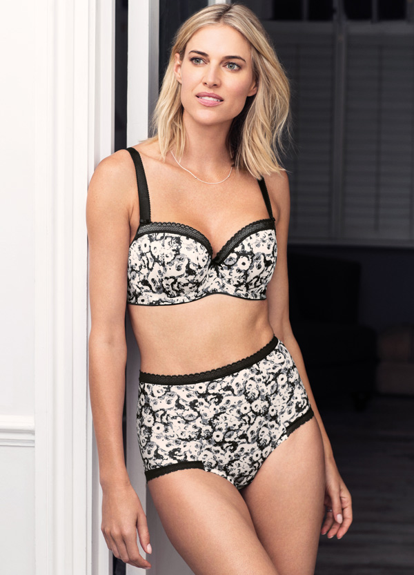 Fantasie - Mya Monochrome Collection - featured on Lingerie Briefs