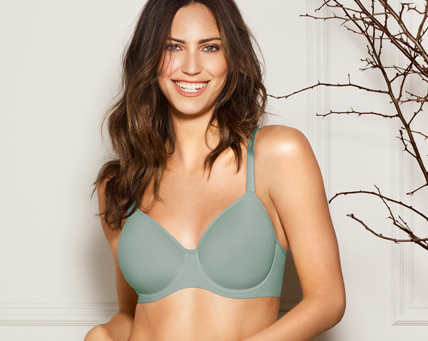 d6361067cd Flawless Comfort T-Shirt Bra is the epitome of modern minimalism. So soft  and smooth