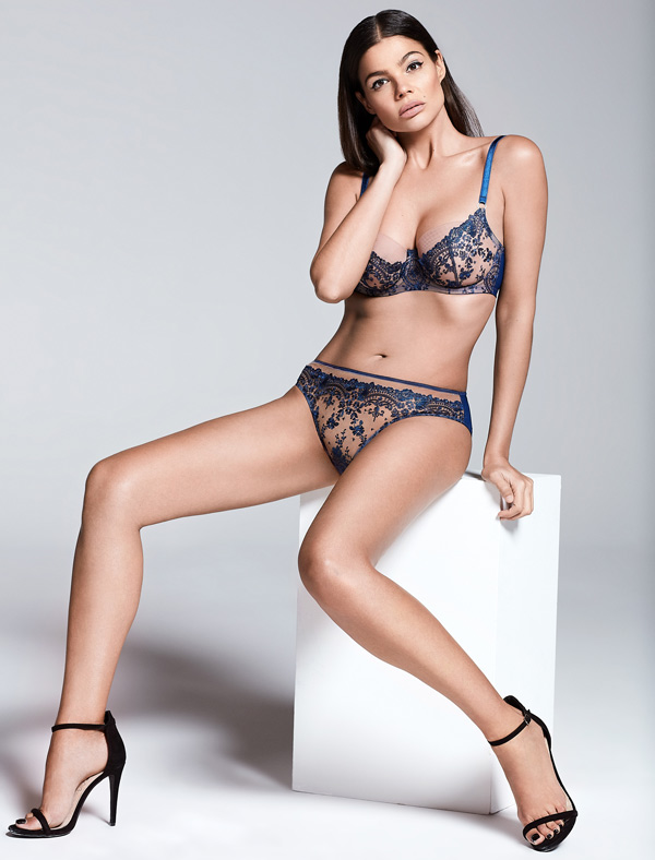 Katherine Hamilton British Luxury Lingerie 'Abrielle' AW19 featured on Lingerie Briefs