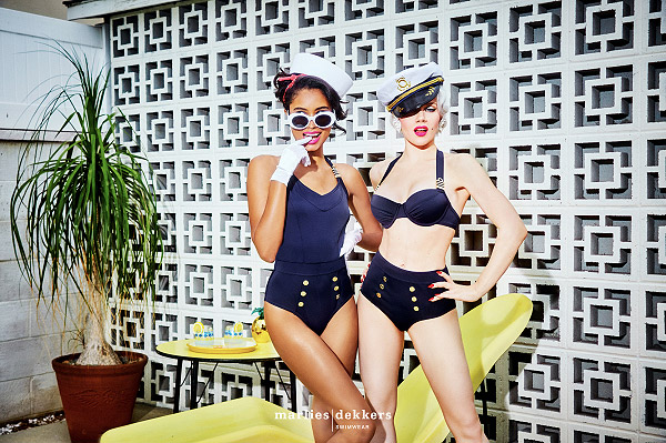 Preview of Marlies Dekkers Spring/ Summer 2019 lingerie campaign on Lingerie Briefs