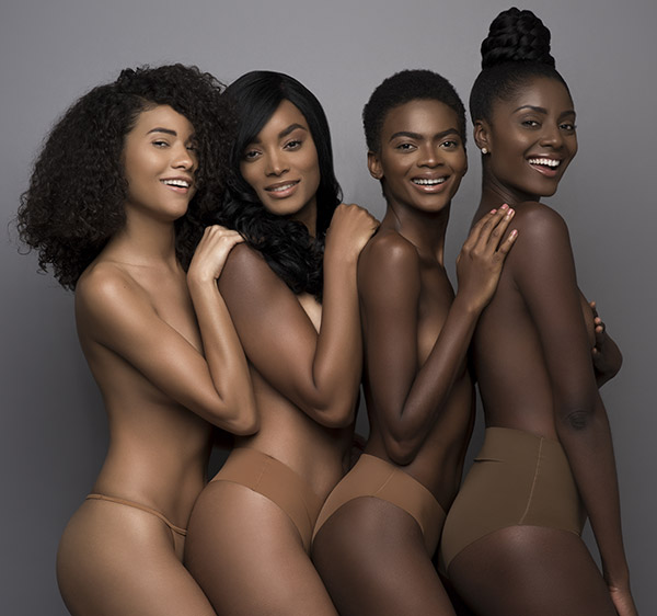 Nubian Skin for women of color as featured on Lingerie Briefs