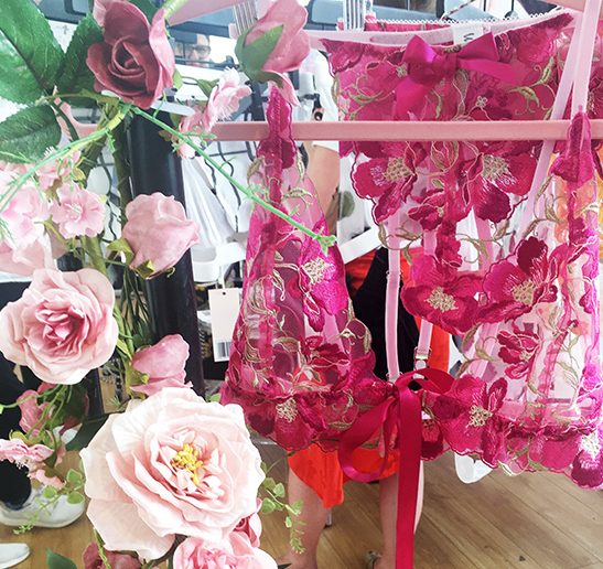 With Love Lily at Dessous London - featured on Lingerie Briefs