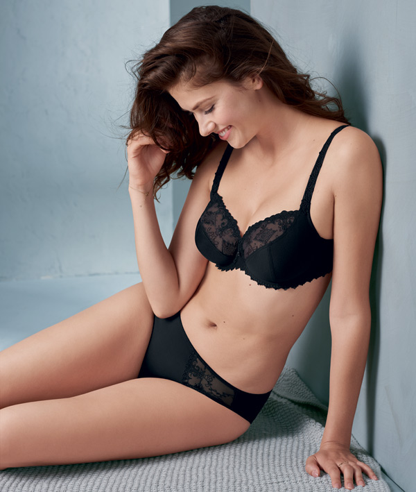 Rosa Faia by Anita Grazia 3-Part Underwire Bra (5638) featured on Lingerie Briefs