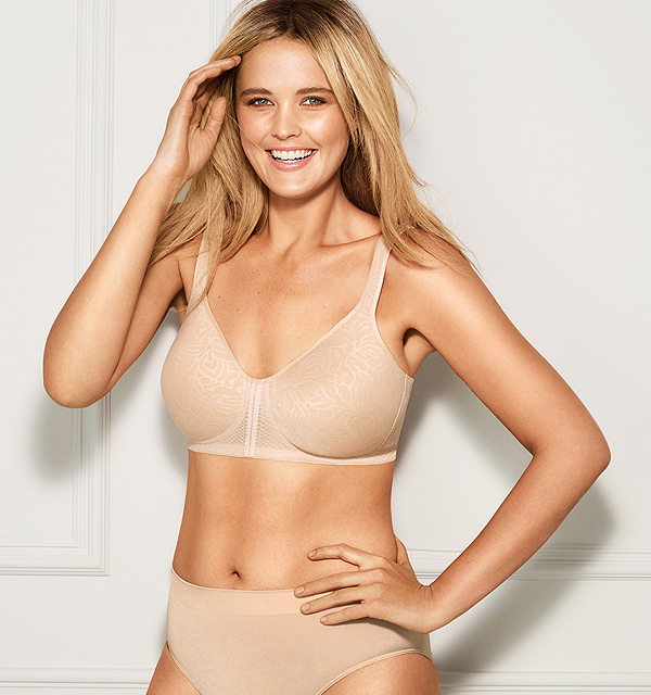 new Awareness Collection Wire Free T-Shirt Bra from Wacoal - featured on Lingerie Briefs