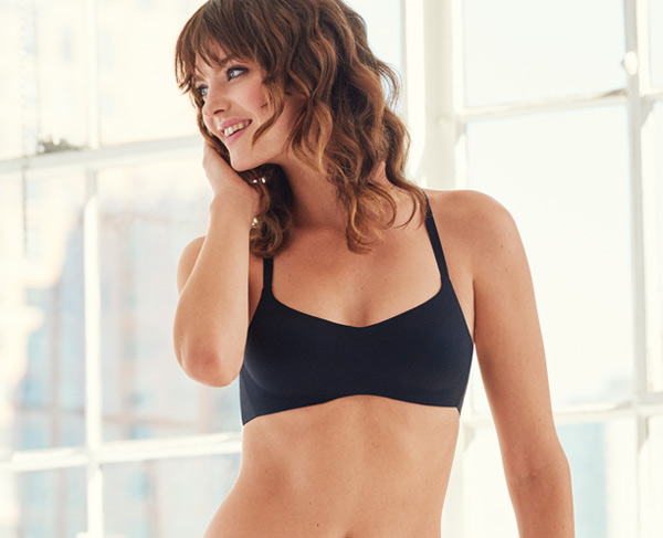 b.tempt'd Future Foundation Wire Free Balconette bra in black featured on Lingerie Briefs