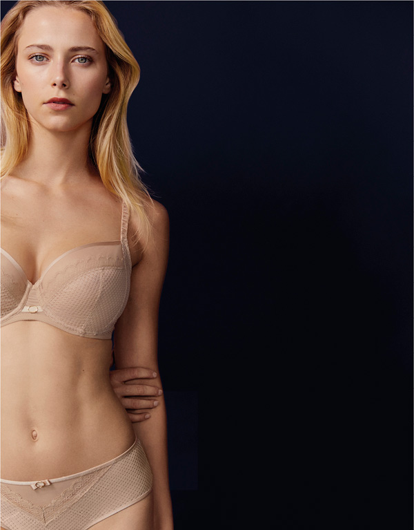 Chantelle - Parisian Allure Collection featured on Lingerie Briefs