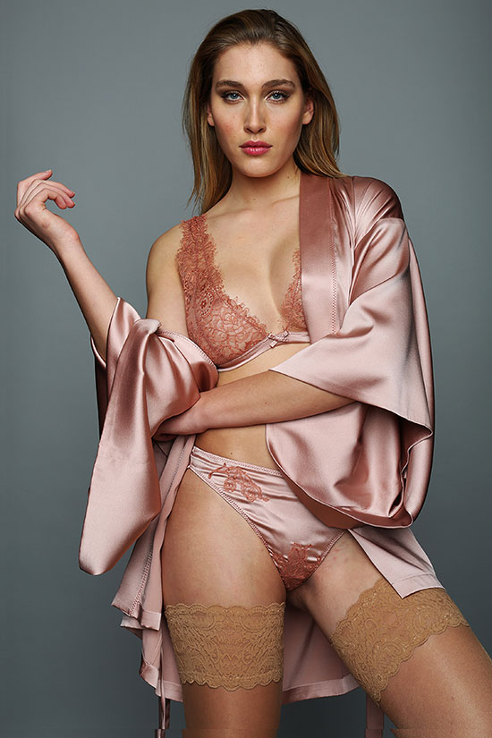 Helen Sanchez Luxury Lingerie Rosario collection featured on Lingerie Briefs