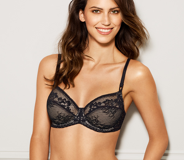 Love to Lace by Wacoal - underwire lace bra featured on Lingerie Briefs