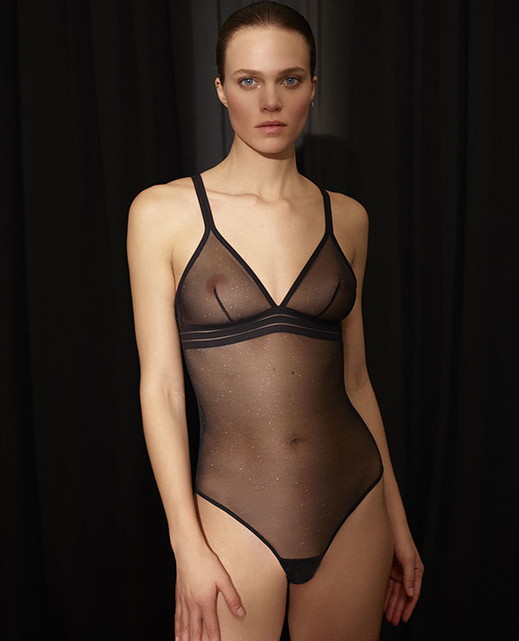 Maison Lejaby NuFit Galaxy Collection Featured on Lingerie Briefs