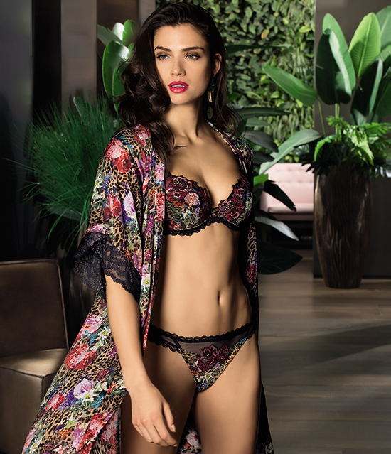 Lise Charmel Coralle Fauve Collection as seen on Lingerie Briefs