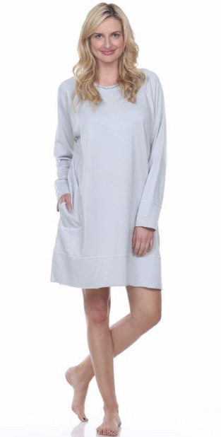 Urban Muumuu short tunic as featured on Lingerie Briefs
