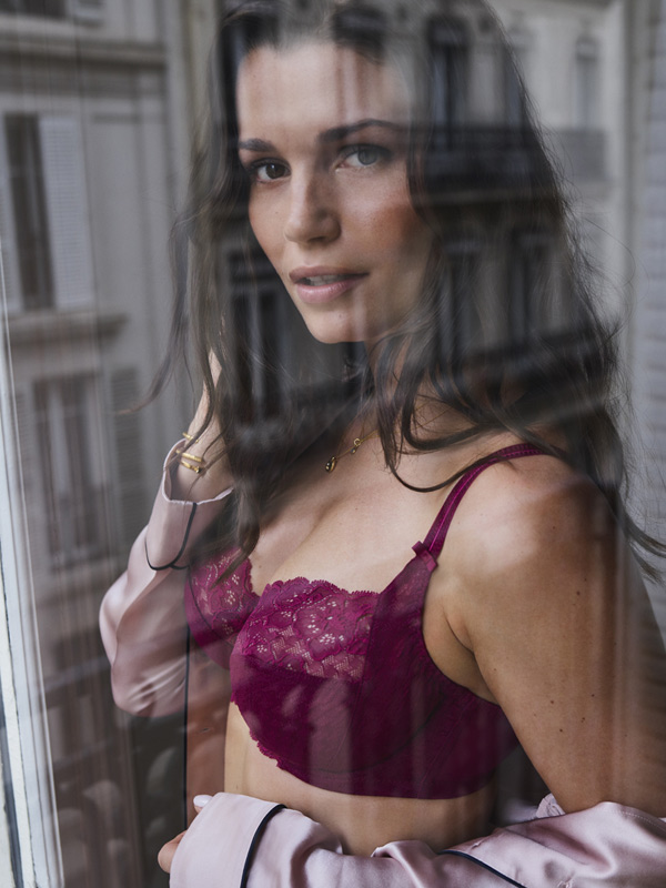 Panache Best selling Envy Collection in deep ruby featured on Lingerie Briefs