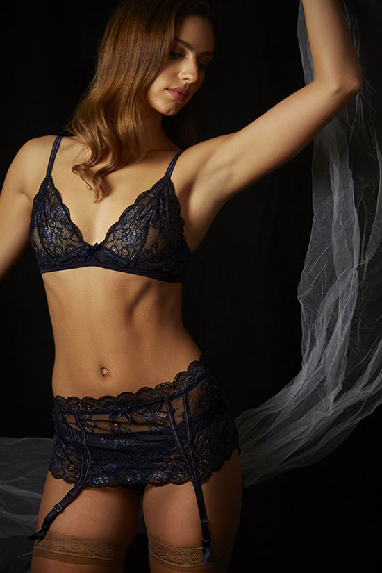 Le Mystere photographed by Stephanie Hynes for Lingerie Briefs