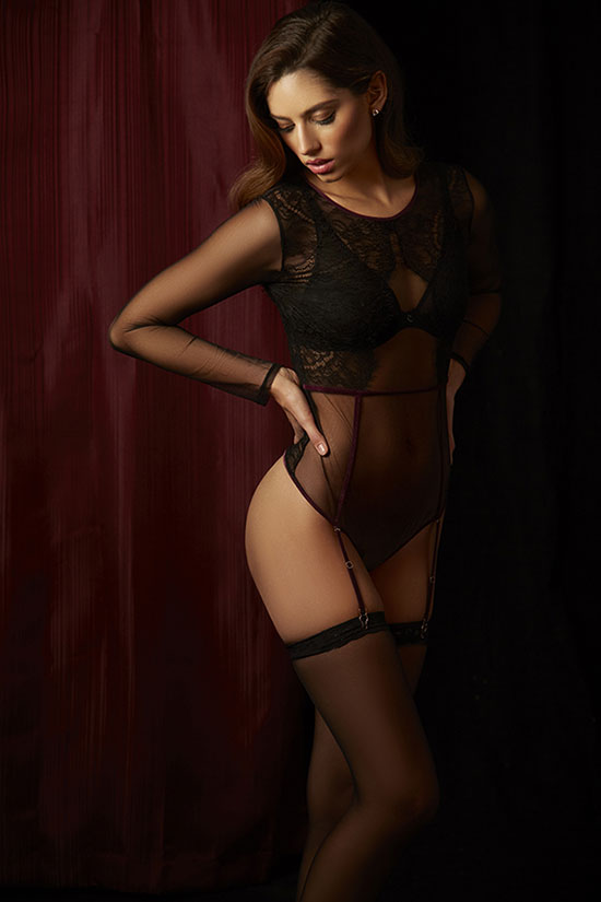 Maison Close with Chantelle bra photographed by Stephanie Hynes for Lingerie Briefs