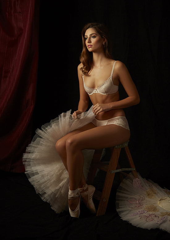 The Little Bra Company photographed by Stephanie Hynes for Lingerie Briefs