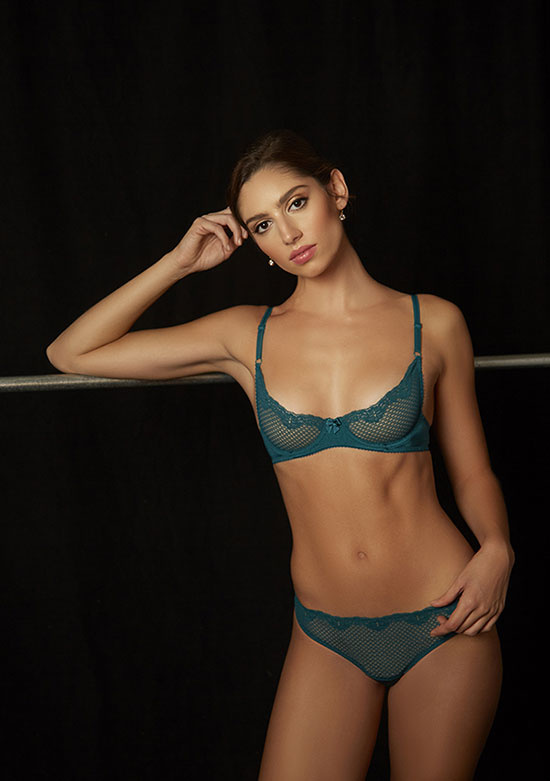 Timpa photographed by Stephanie Hynes for Lingerie Briefs