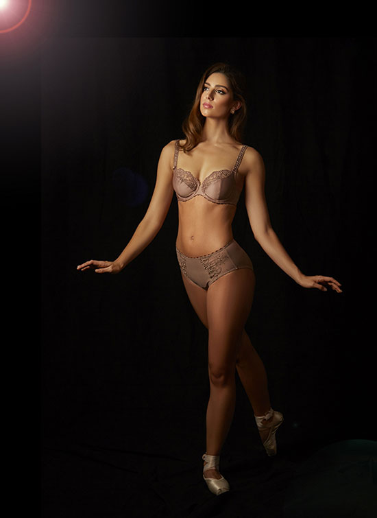 Rosa Faia photographed by Stephanie Hynes for Lingerie Briefs