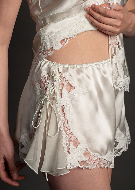 The Luxury of Jane Woolrich Couture on Lingerie Briefs