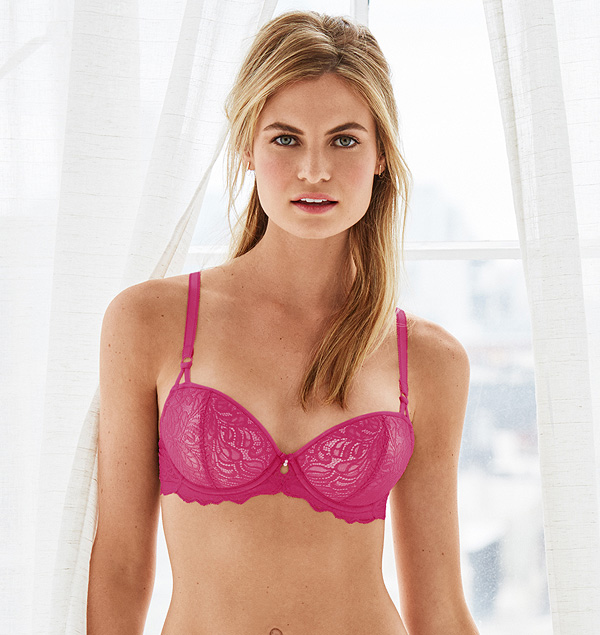 ebe7571aed205 b.tempt d Undisclosed underwire t-shirt bra in new pink peacock featured
