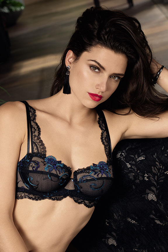 Lise Charmel Nuit Elegance balconnet bra as featured on Lingerie Briefs