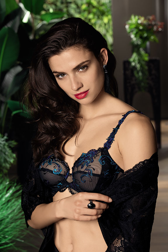 Lise Charmel Nuit Elegance full cup bra as featured on Lingerie Briefs