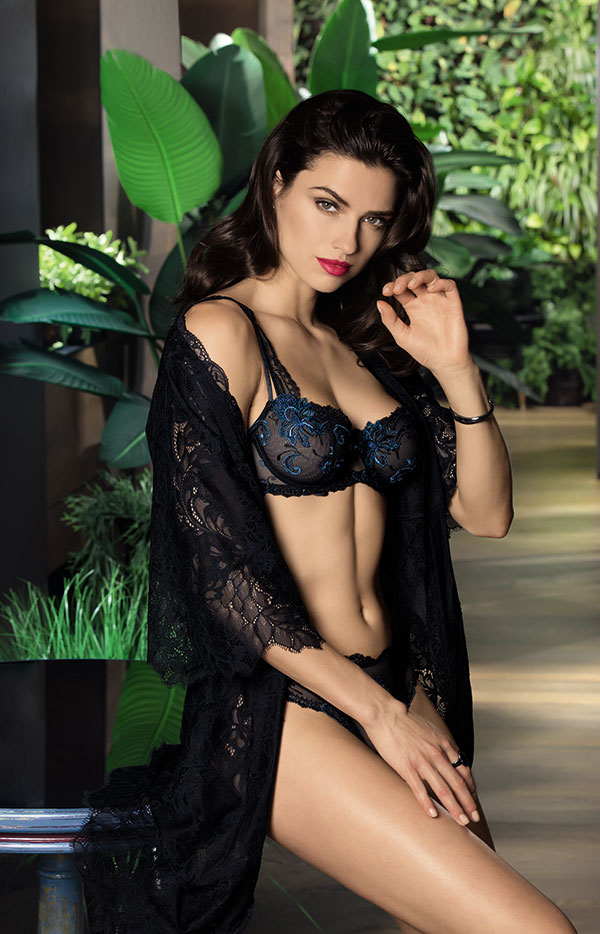 Lise Charmel Nuit Elegance demi bra as featured on Lingerie Briefs