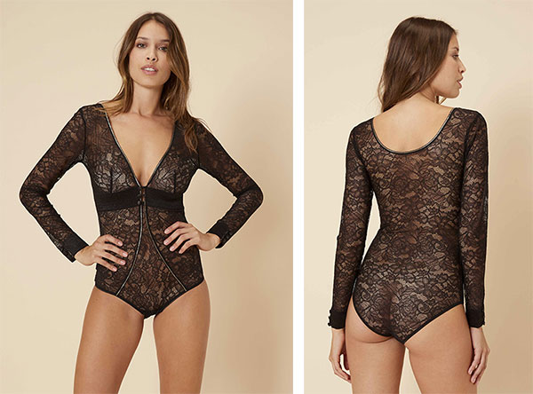 Simone Perele Afterwork Bodysuit on Lingerie Briefs