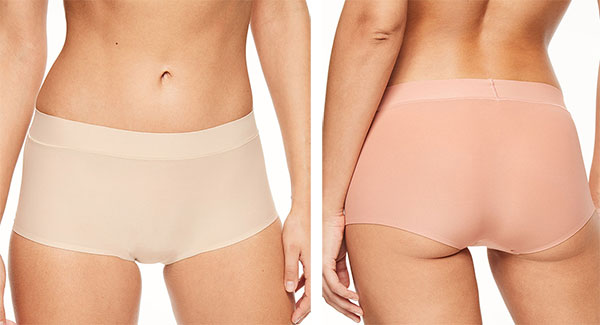 Chantelle Soft Stretch boyshort as featured on Lingerie Briefs